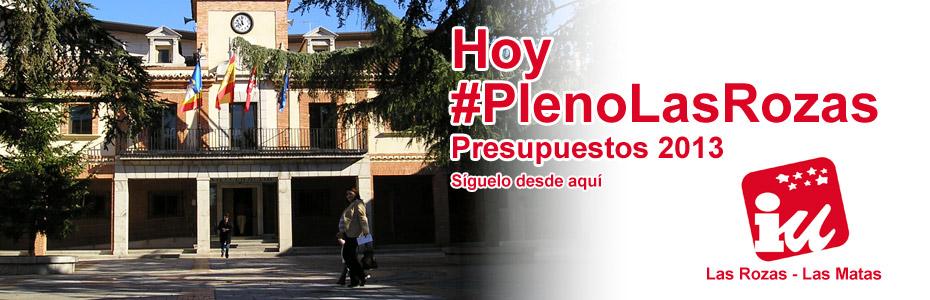 #PlenoLasRozas