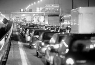 Tráfico en Las Rozas