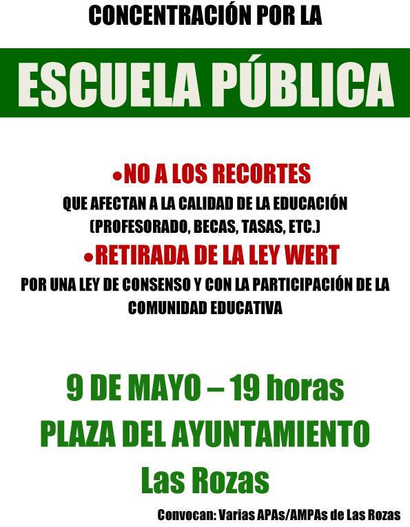 Concentracion 9 mayo
