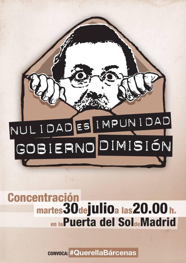 30 DE JULIO DE 2013 GOBIERNO DIMISIÓN